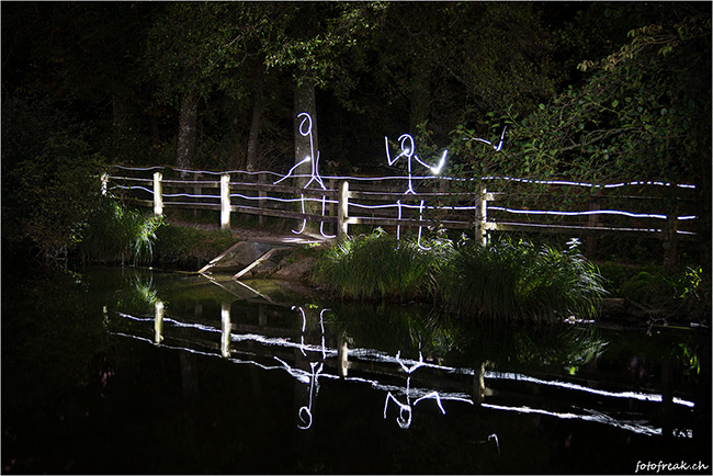 Light Painting - Chlostergumpen in Embrach