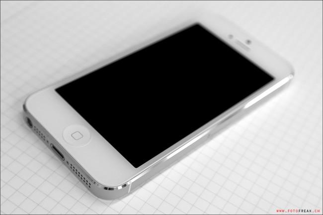 Samsung NX210 - iPhone 5 Weiss