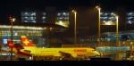 Flughafen Zürich Kloten - by Night