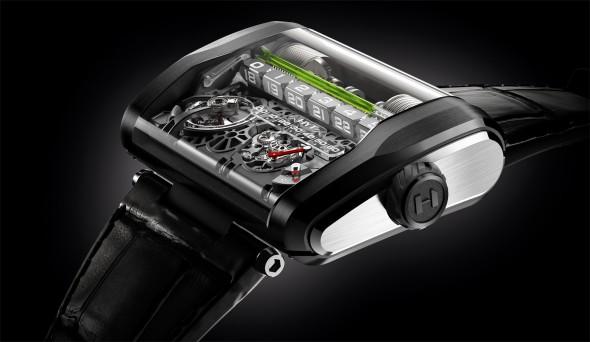 Geniale Armbanduhr - Die HYT H3
