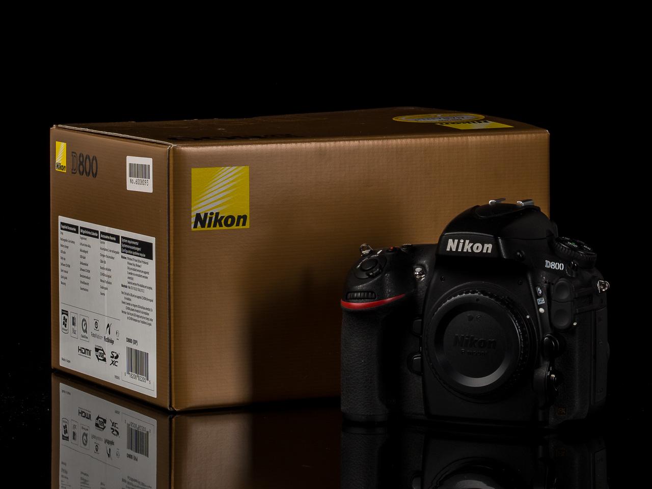 Grosser Nikon DSLR Kamera- und Objektiv-Verkauf